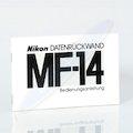 Anleitung Datenrückwand MF-14