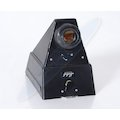 Winkelspiegel Schwarz 9x12/4x5