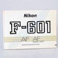 Anleitung F-601AF