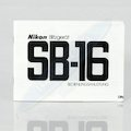 Anleitung Speedlight SB-16