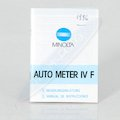 Anleitung Auto Meter IV F