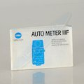 Anleitung Auto Meter IIIF