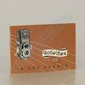 Anleitung Rolleiflex 3,5 in der Praxis