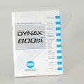 Anleitung Dynax 800Si