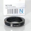 Adapterring Leica-M an MFT