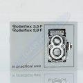 Anleitung Rolleiflex 3,5 F/2,8 F (Englisch)