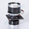 Sonnar 5,6/250 Synchro Compur 3 mit Linhof Objektivplatte 96x99