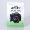 Anleitung EOS 700D (Englisch)