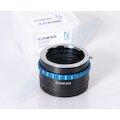 Adapterring Nikon an Canon EOS M