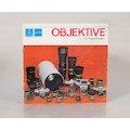 Prospekt Objektive für Spiegelreflexkameras 1973