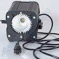 Halogenleuchte HMI D02 200W Ohne Leuchtmittel/CH-Stecker