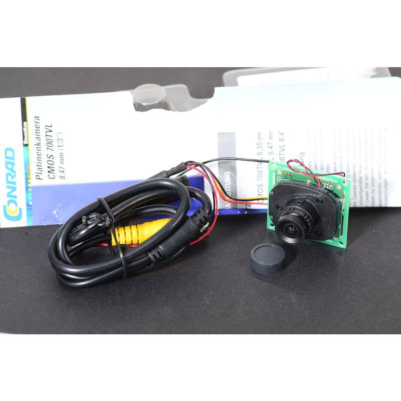 Conrad Platinenkamera CMOS 700TVL 8,47mm