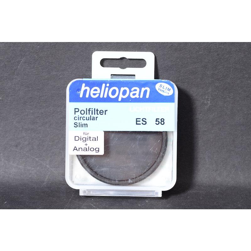 Heliopan Polfilter Zirkular Slim E-58