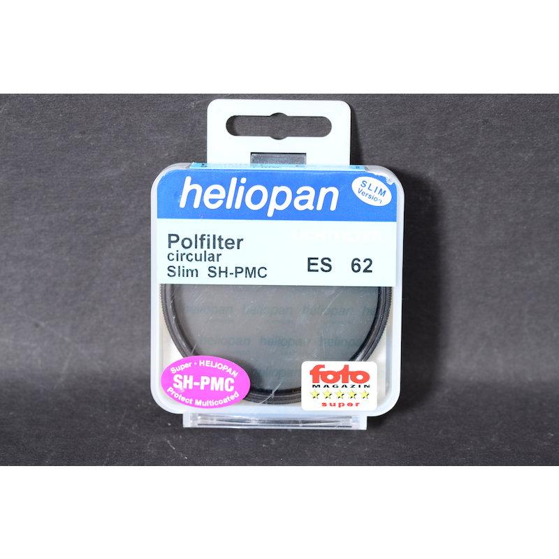 Heliopan Polfilter Zirkular SH-PMC Slim E-62