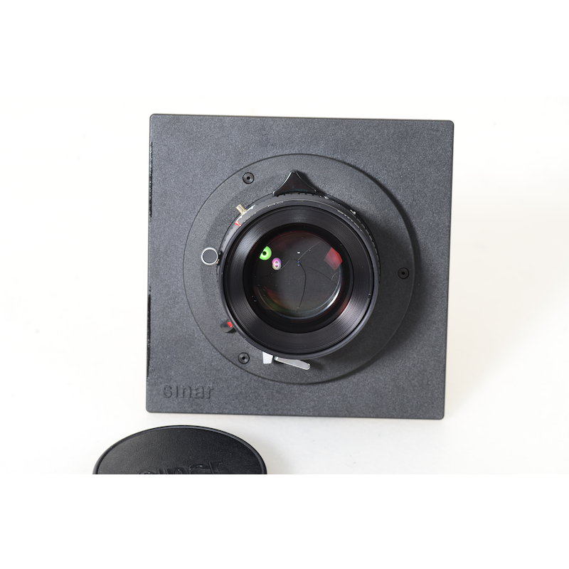Sinar Sinaron-S 5,6/210 MC Copal 1 mit Sinar Objektivplatine
