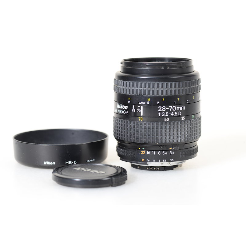 Nikon AF 3,5-4,5/28-70 D