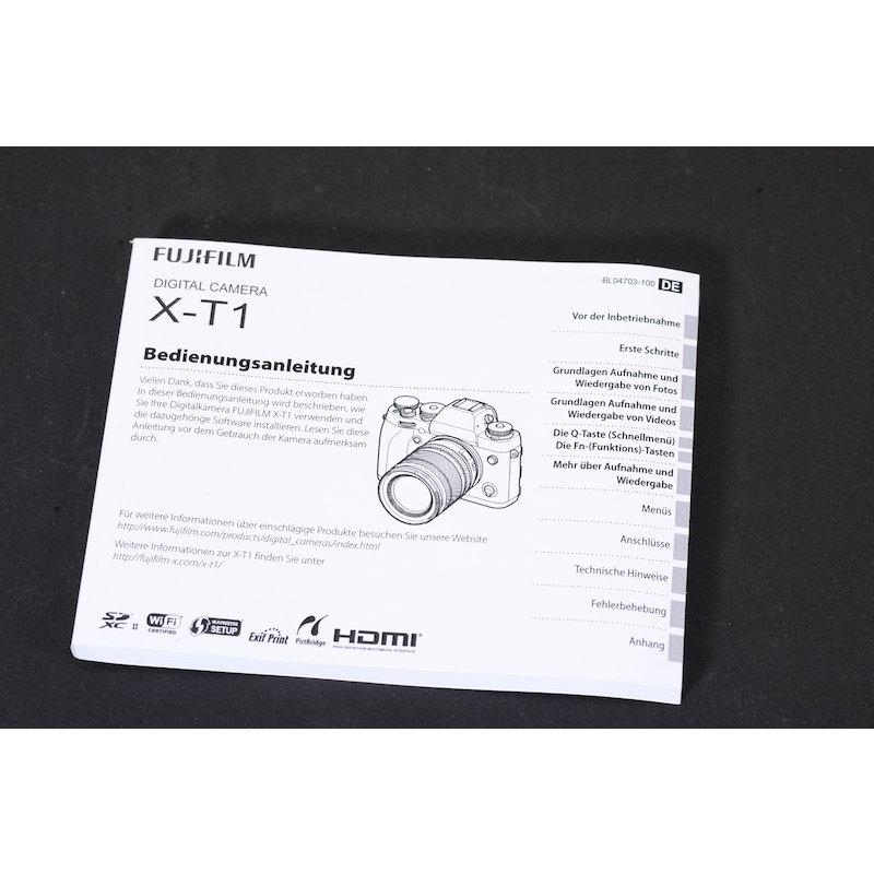 Fujifilm Anleitung X-T1