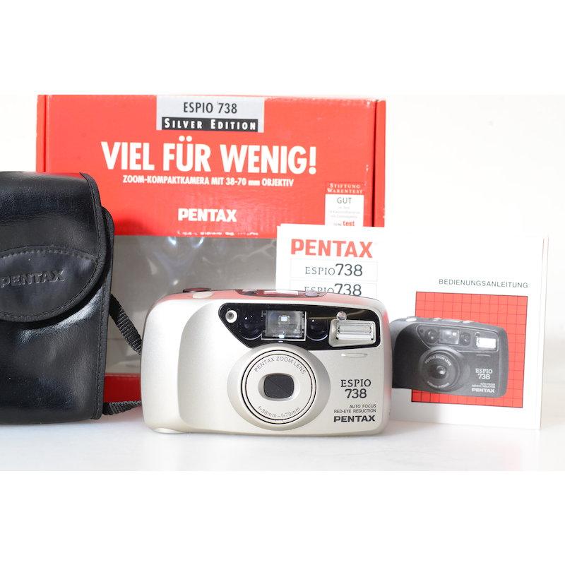 Pentax Espio 738 Silver Edition