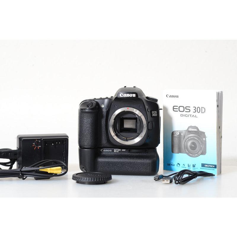 Canon EOS 30D+Batteriegriff BG-E2