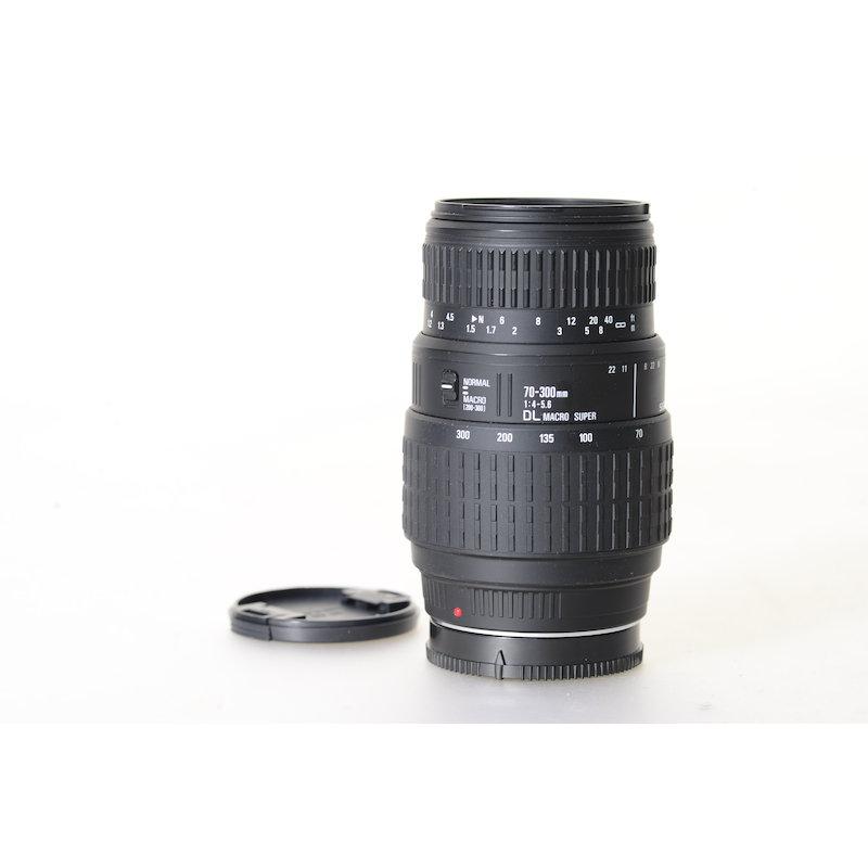 Sigma DL 4,0-5,6/70-300 Makro Super Mi/AF