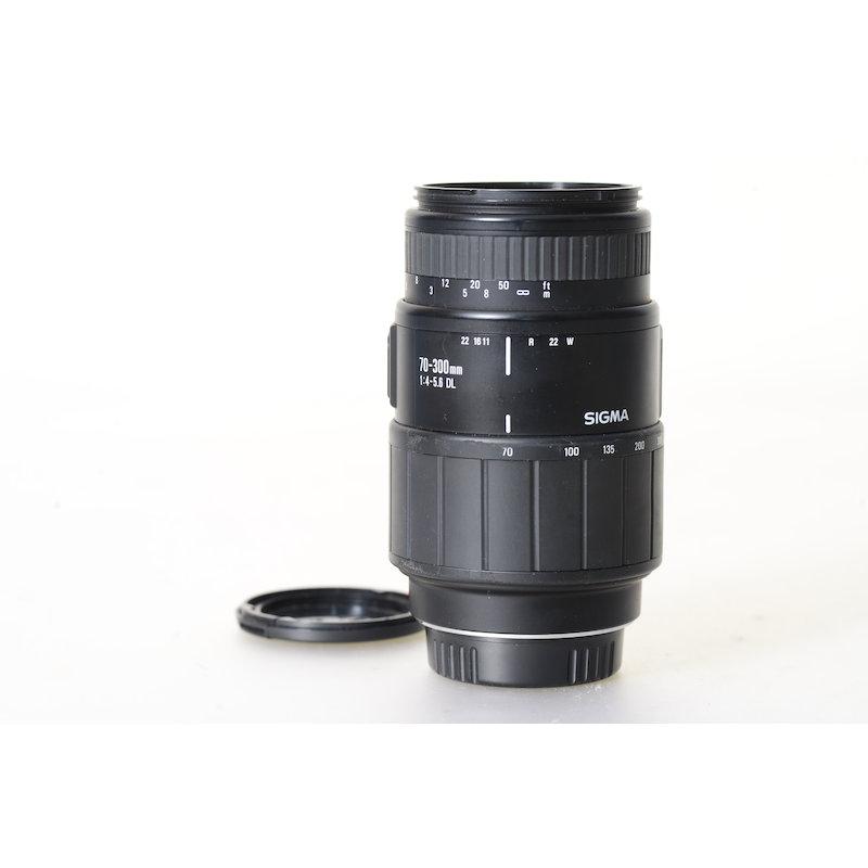 Sigma DL 4,0-5,6/70-300 MI/AF