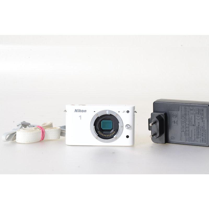 Nikon 1 J1 Weiß