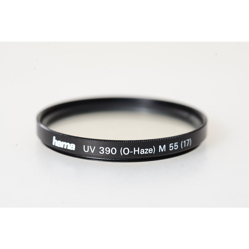 Hama UV-Filter 390 (0-Haze) E-55 (17)
