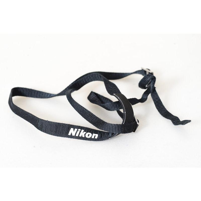 Nikon Trageriemen Schwarz Schmal