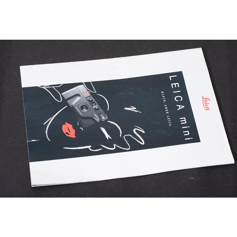 Leica Prospekt Leica Mini