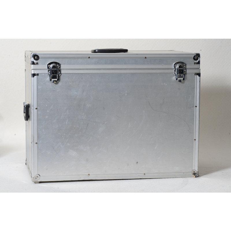 Sonstiges Aluminiumkoffer Studioblitzausrüstung 60x45x30cm