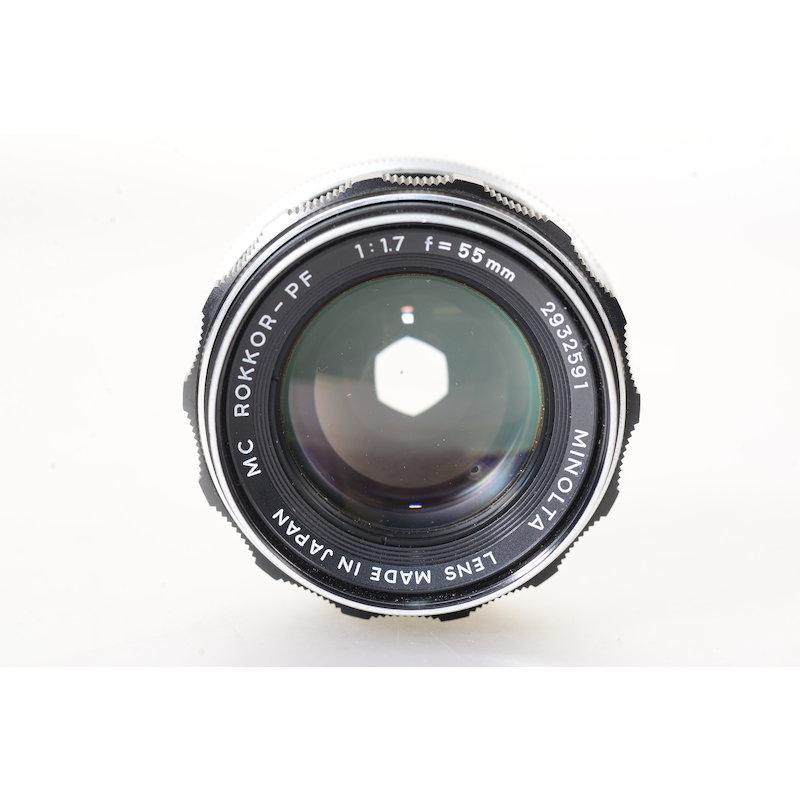 Minolta MC Rokkor-PF 1,7/55