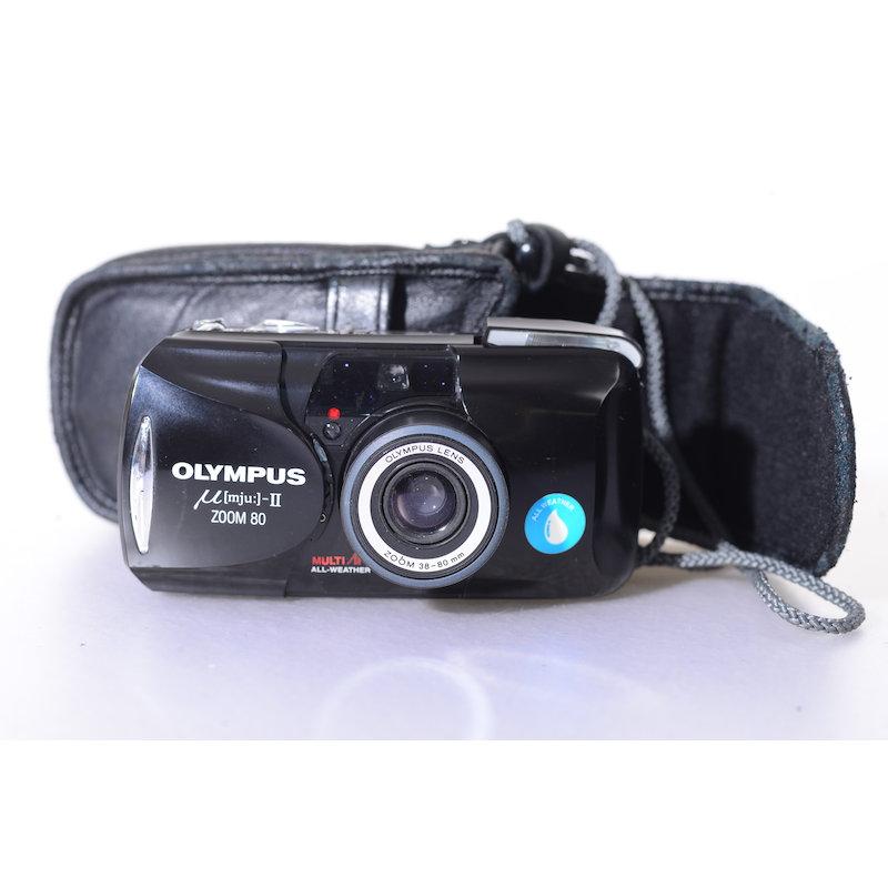 Olympus Mju II Zoom Wide 80
