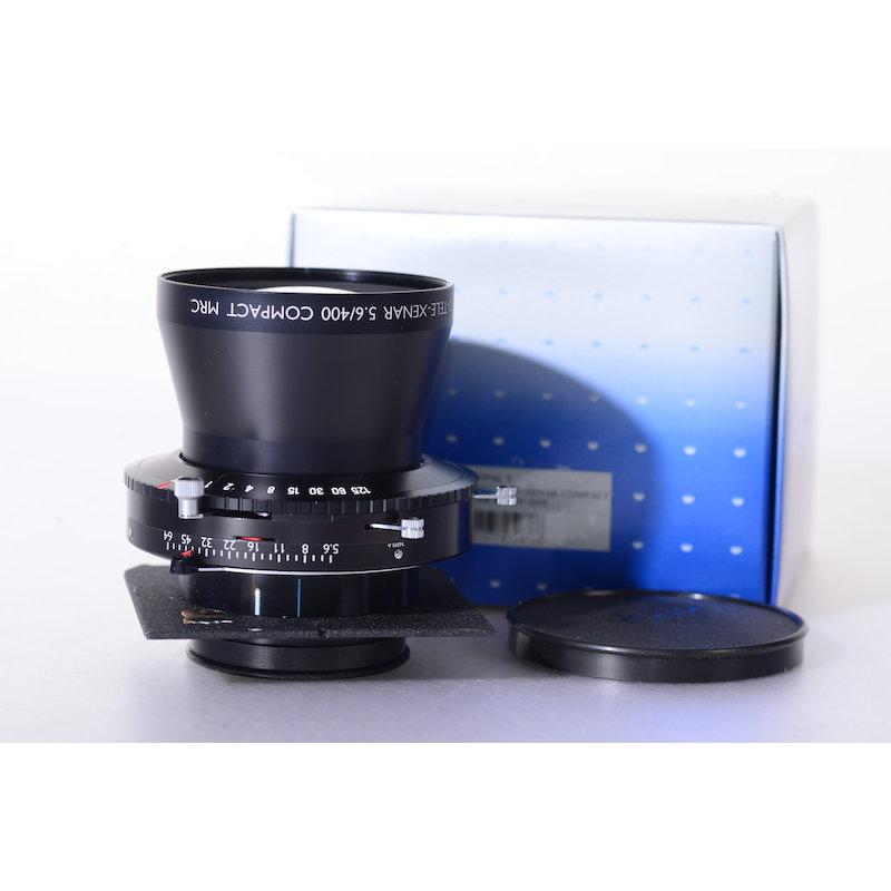 Schneider APO-Tele-Xenar 5,6/400 Compact MRC Copal 3 mit Linhof/Wista Objektivplatte 96x99 #32676