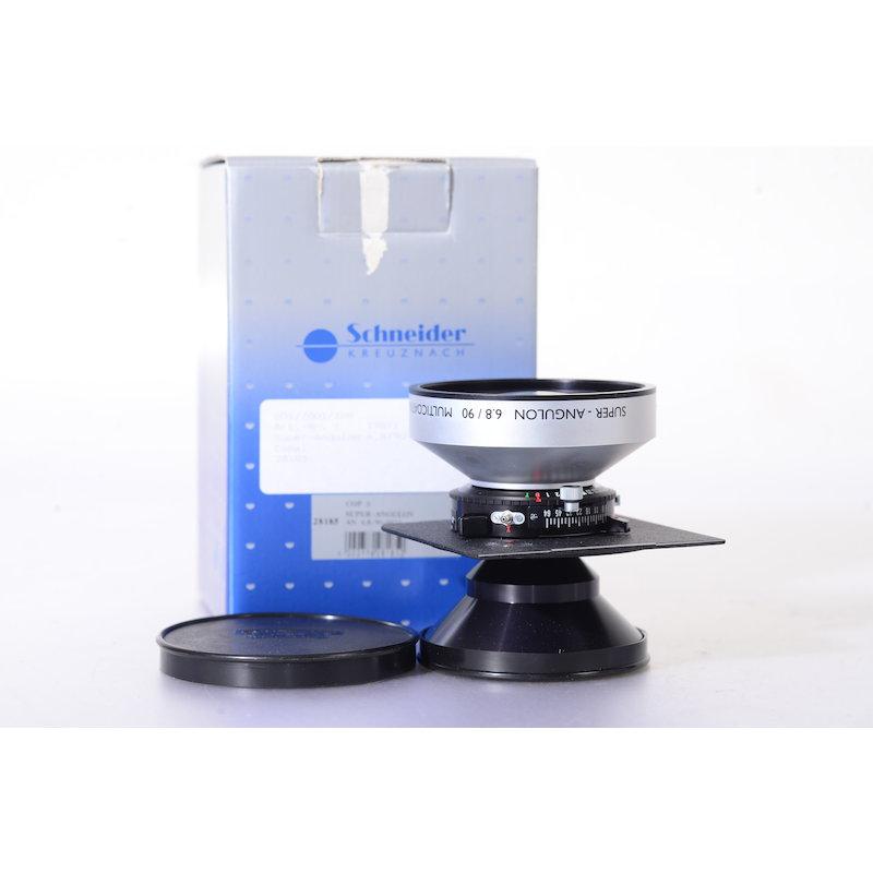 Schneider Super-Angulon 6,8/90 Copal 0 auf Linhof Platte 96x99 #28185