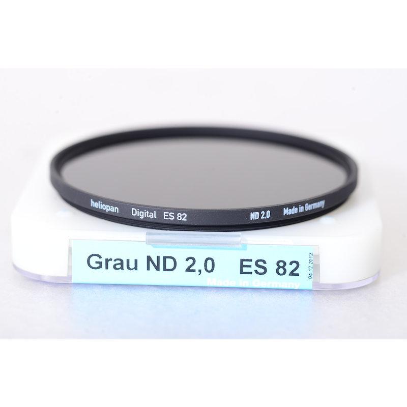 Heliopan Graufilter ND 2,0 100x E-82
