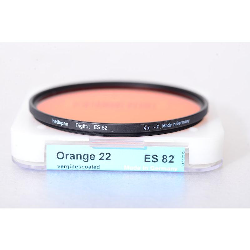 Heliopan Orangefilter (22) E-82