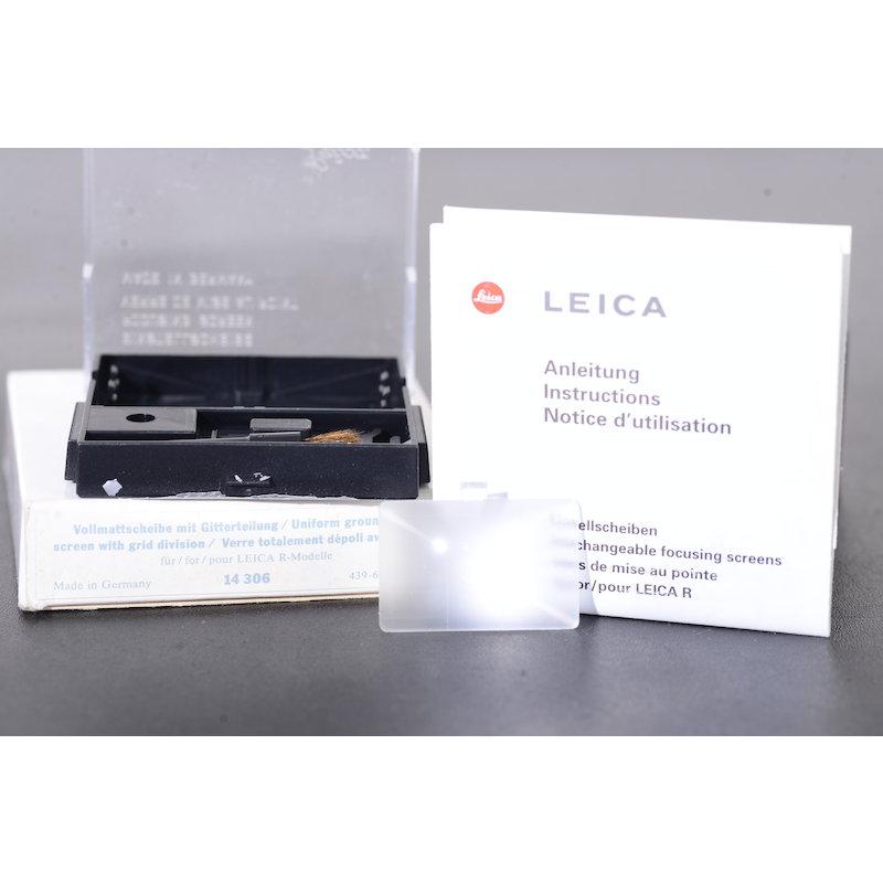 Leica Einstellscheibe Gitter R #14306