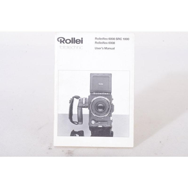 Rollei Anleitung Flex 6008 SRC 1000 (Englisch)