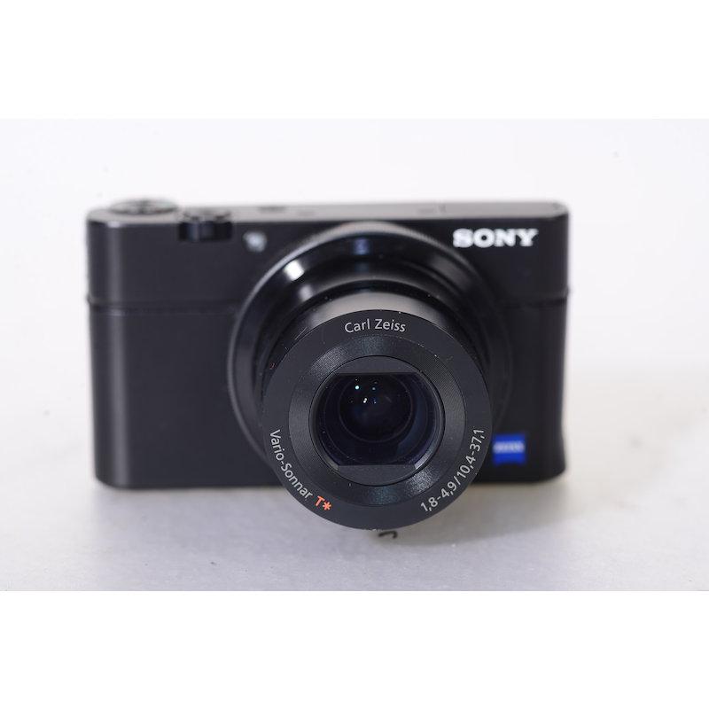 Sony Cybershot DSC-RX100 (Ungeprüft/Defekt?)