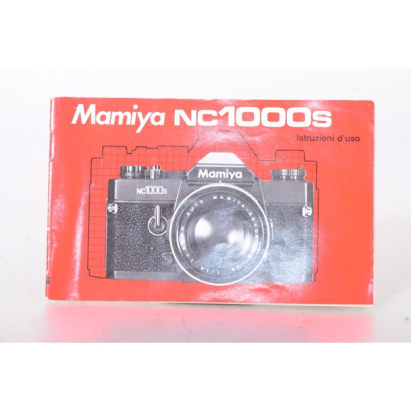 Mamiya Anleitung NC-1000s (Italienisch)