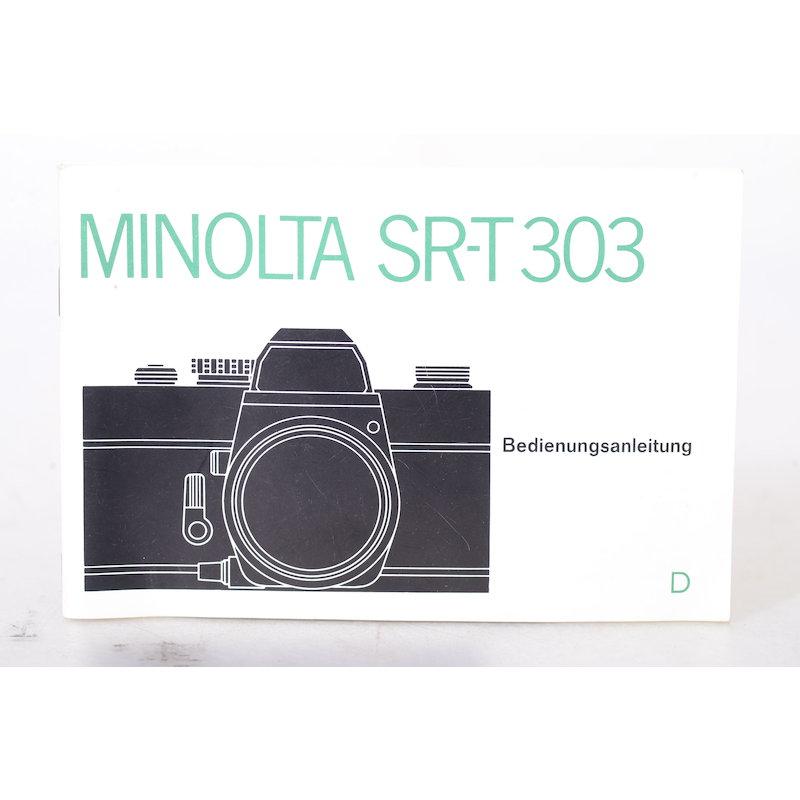 Minolta Anleitung SR-T 303