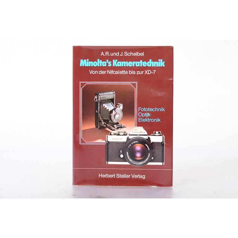 Scheibel Minoltas Kameratechnik - Von der Nifcalette bis zur XD-7