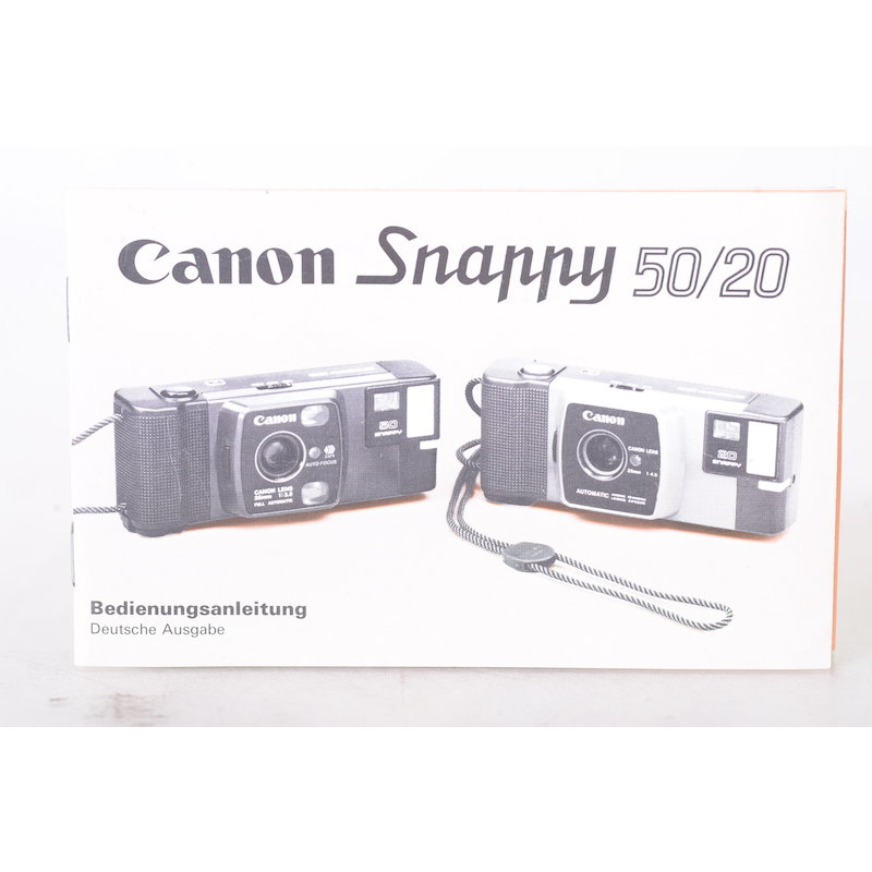 Canon Anleitung Snappy 50/20
