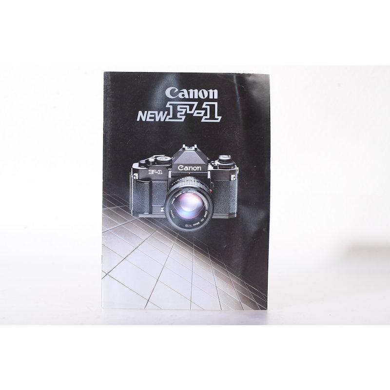 Canon Prospekt F-1 New