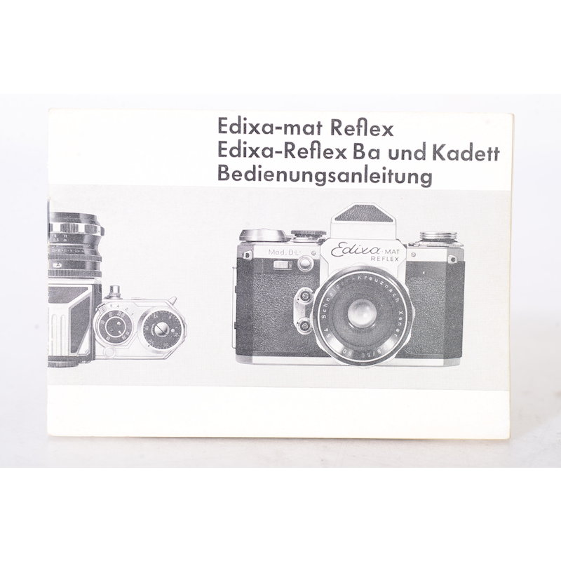 Wirgin Anleitung Edixa-Mat Reflex / Edixa-Flex / Edixa-Reflex