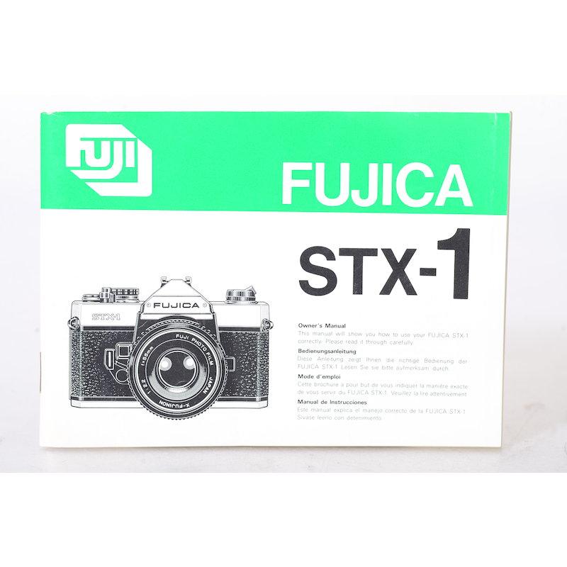 Fuji Anleitung Fujica STX-1