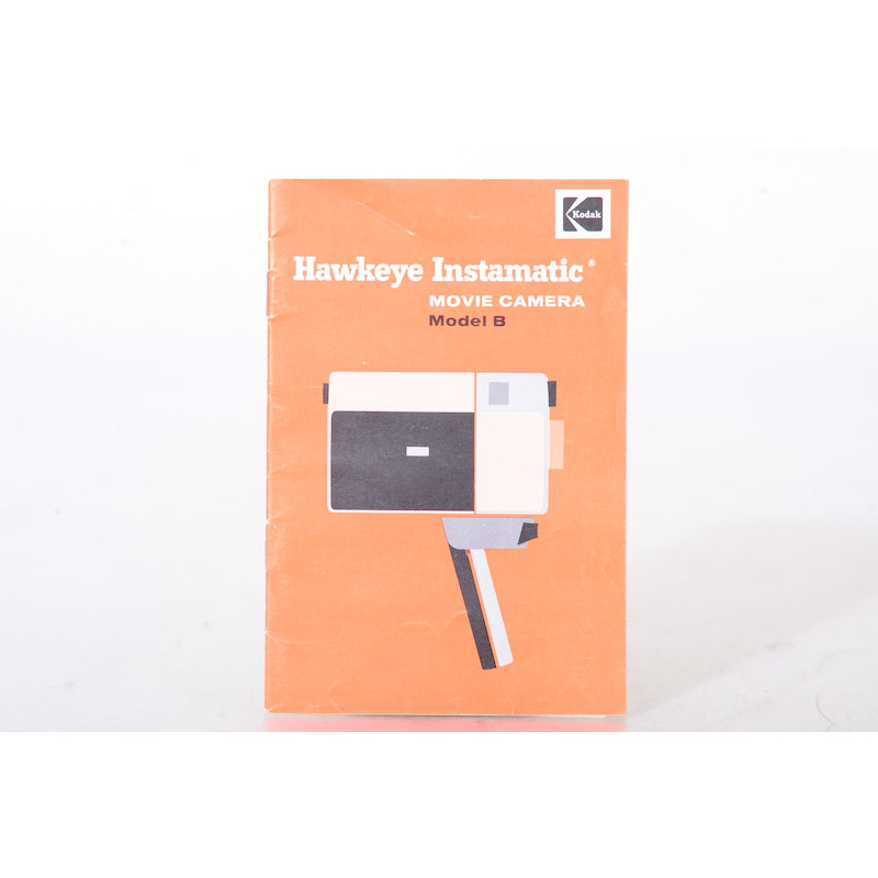 Kodak Anleitung Hawkeye Instamatic Movie Camera Model B (Englisch)