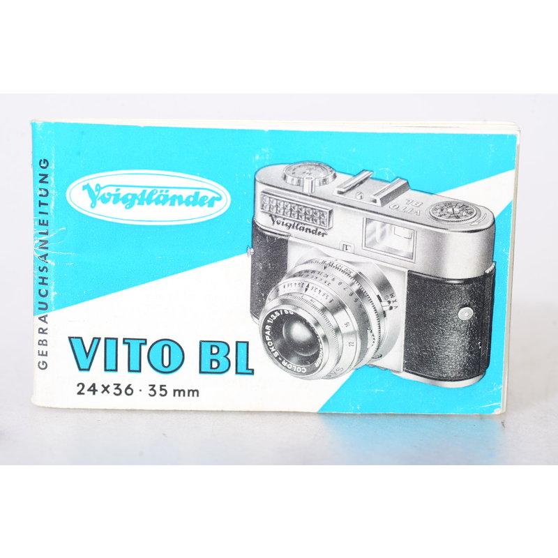 Voigtländer Anleitung Vito BL