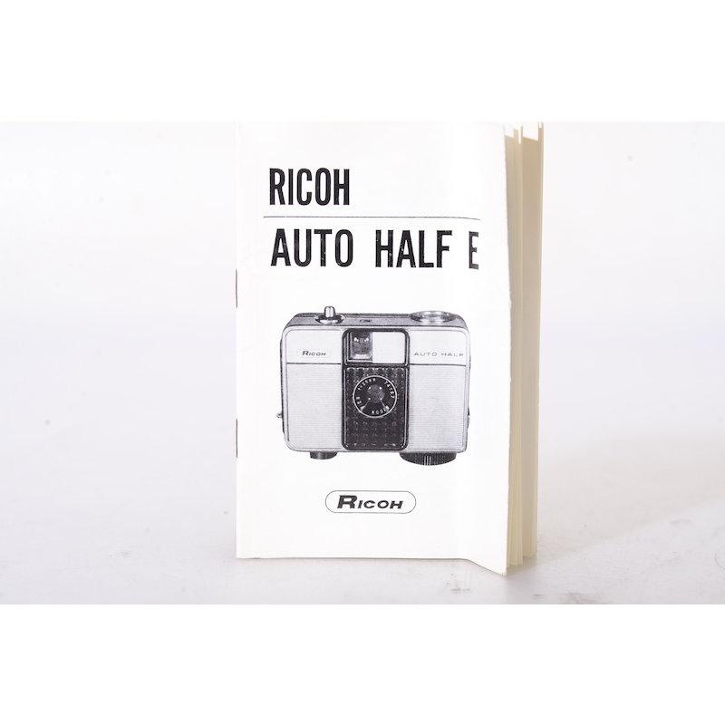 Ricoh Anleitung Auto Half E