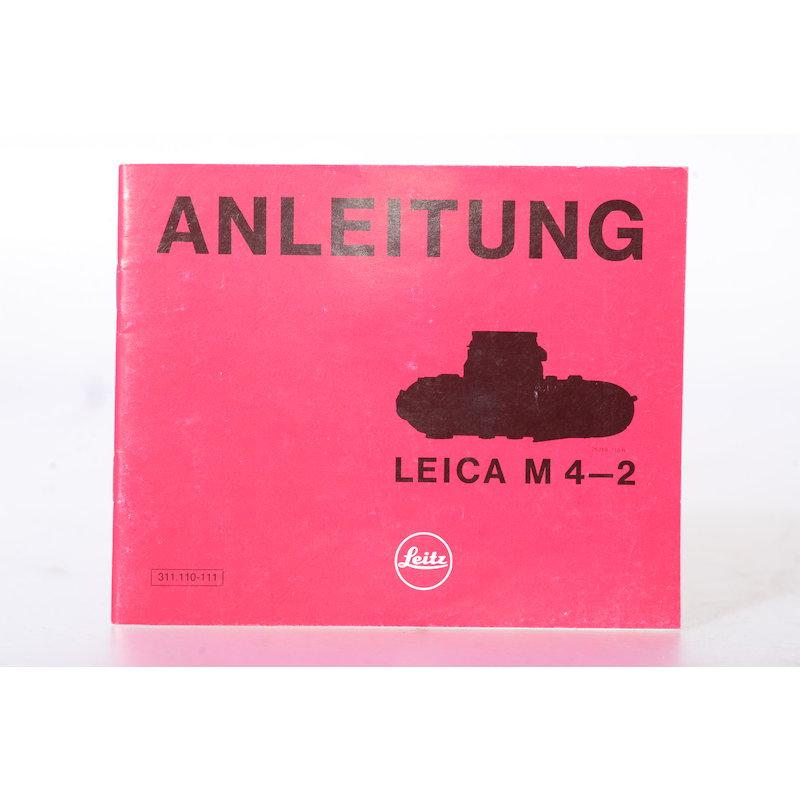 Leica Anleitung M 4-2